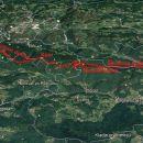 Zidani Most-Cicka-Nebeška g. Kum-Zagorje 22,8km in1380m vzpona.