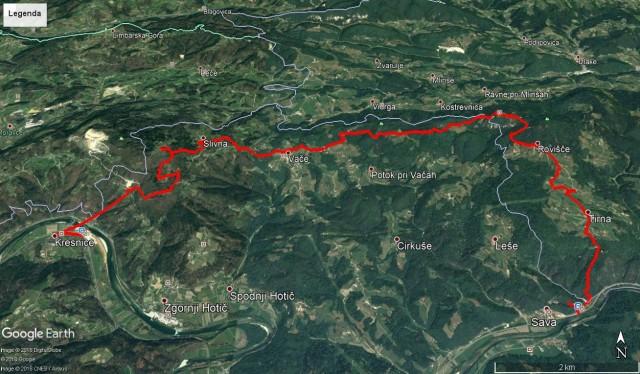 Kresnice-Slivna-geoss_Zas.sv.g.in v Savo, 24,8km in 920m vzpona