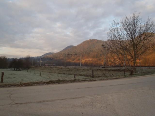 Pogled na okolico doline.