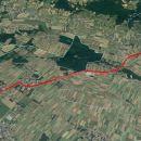 Pohod med Bratonci in Dobrovnikom 12,3Km.