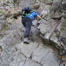 Malo bolj zahteven vzpon na grebenski del Donačke gore.