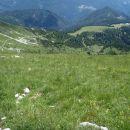 Greben Veliki vrh - Veliko Kladivo.