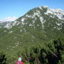 Veliki vrh in Velika Zalenica. 2110m.