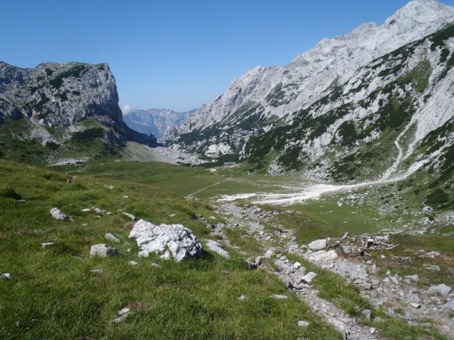 Dolina pred Korošico