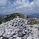 Pogled z Velikega vrha2114 na Veliko Zelenico 2114.