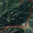 Žel.postaja Hudajužna-Porezen-Petrovo brdo-Podbrdo, 17,8km.