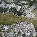 Od Temena proti vrhu Rjavine.