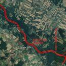 Krožna pot ob Muri dolga 19,4 km in le nekaj metrov vzpona-spusta.