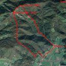 Grmada, iz Belice gor, G, M.G, dol v Dvor, 6,9 km in 582 m vzpona
