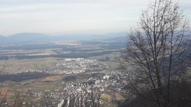 20200222 Grahovo-Lubnik-Stari grad-Grahovo - foto