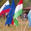 02 Zastave, Slovenija, EU, Madžarska in PZ Slovenije.