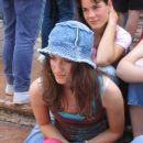 ...z Matjažem sva tekmovala kdo bo naredil lepšo fotografijo Polone... To je moja fotograf