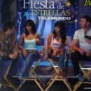 Fiesta de Estrellas Telemundo 2005.11.12-13 Michel Brown, Natasha Klauss, Paola Andrea R