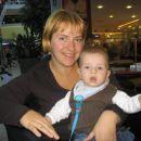Mami in jaz na kavici